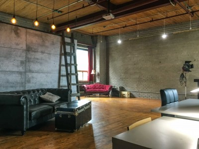 Vintage Warehouse Loft